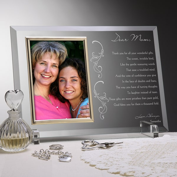 Personalized Poem Frame makes a wonderful 90th birthday gift that they'll love seeing each day!