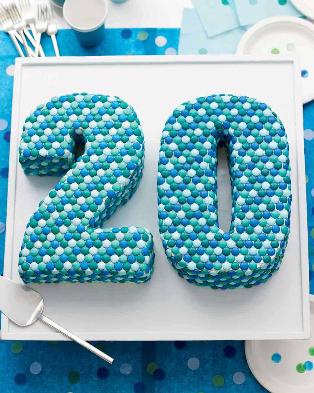 Birthday Cake M Ms Amazon