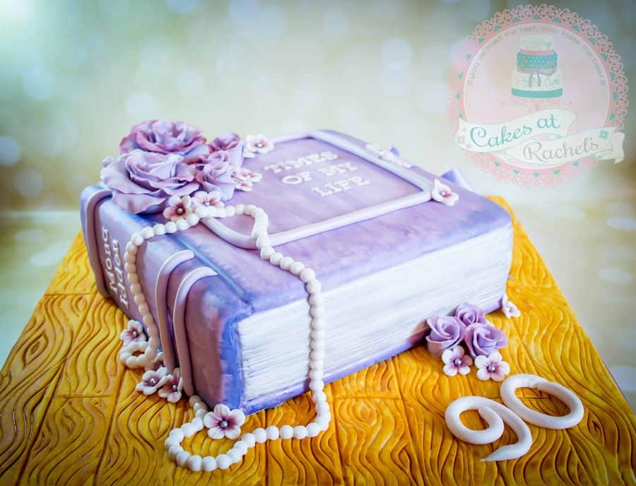Book Lovers Birthday Cake