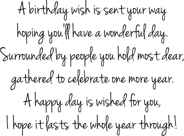 90th Birthday Wishes Perfect Quotes For A 90th Birthday