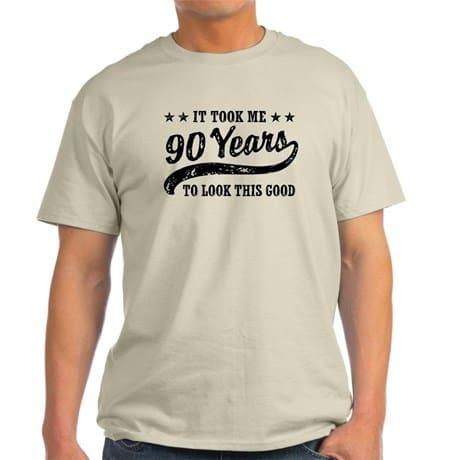 90th Birthday Shirts