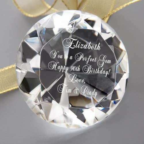 Perfect Gem Personalized Keepsake