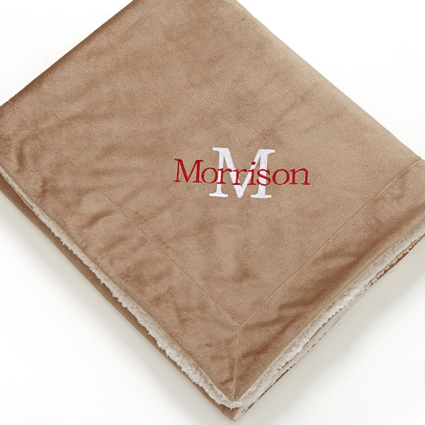 Personalized Micro Mink Blanket