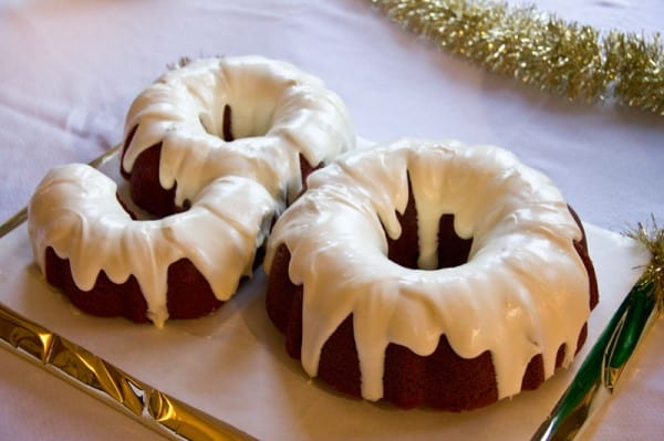 90th Birthday Bundt Cake