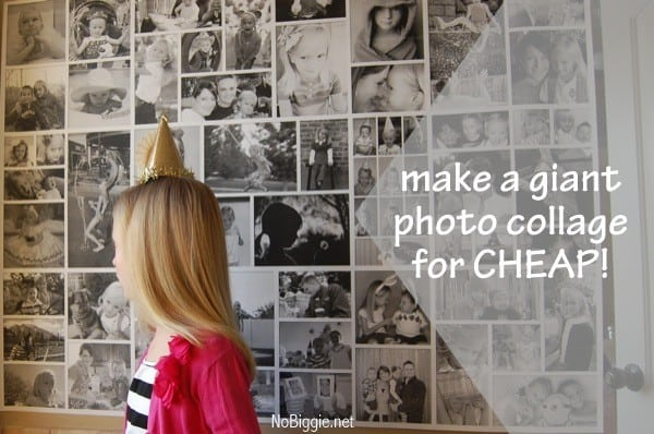 How to Make a Giant Photo Collage
