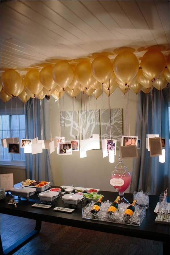 90th Birthday Photo Balloon Decorations