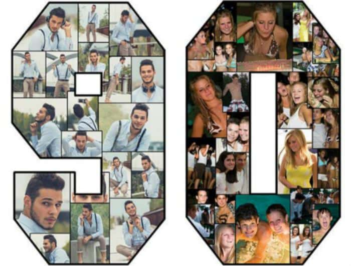 90th Birthday Photo Collage - Buy Online