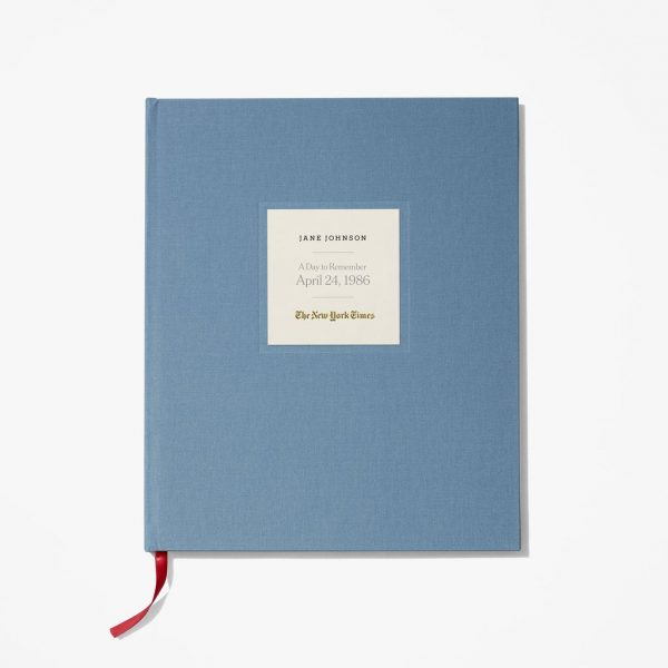 Delight your favorite senior on their 90th birthday with an exclusive New York Times Your Special Day birthday book. Personalized book features a complete reproduction of The New York Times from the day they were born. An impressive 90th birthday gift for the man or woman who has everything!