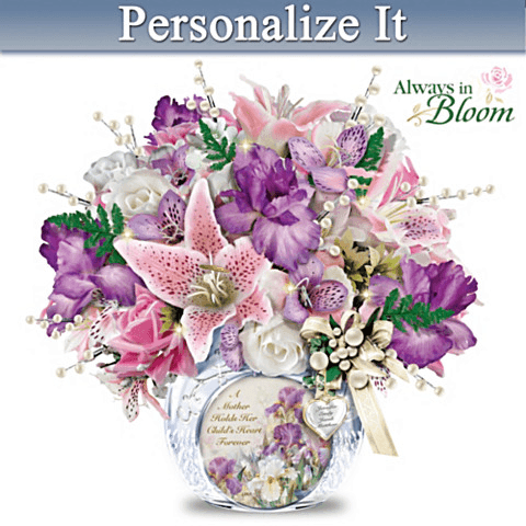 Personalized 90th Birthday Flowers For Mom