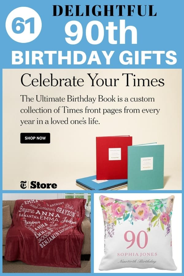 Delightful 90th Birthday Gifts - Thrill your favorite man or women who is turning 90 with  sc 1 st  90th Birthday Ideas & 90th Birthday Gifts - 50 Top Gift Ideas for 90 Year Olds