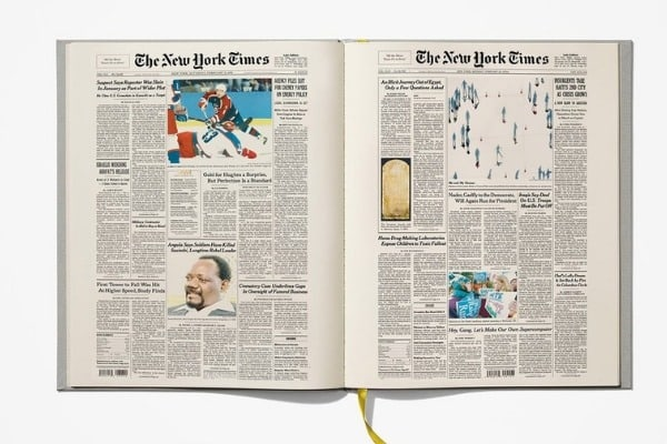 The New York Times Ultimate Birthday Book Every Front Page For All 90 Years