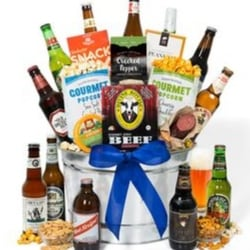 Around the World Gourmet Beer Gift Basket