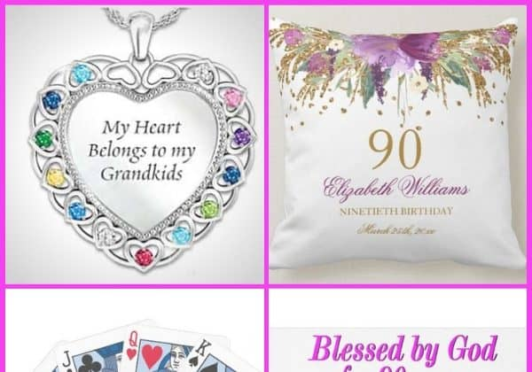 Gifts for 90 Year Old Grandma - Wondering what to get your grandmother for her 90th birthday? Thrill her with the perfect present on her milestone birthday. Click to see 50 awesome 90th birthday gift ideas for grandma! #90thBirthdayIdeas #90thBirthday #grandmagifts