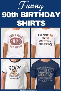 90th Birthday Shirts for Men - Deck Grandpa, Dad or another favorite 90 year old man out in style with a funny 90th birthday shirt! Affordable and fun birthday gift for anyone turning 90. Click to order. #90thBirthdayIdeas #90thBirthday #birthdaygifts