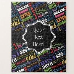Personalized Jigsaw Puzzle - Choice of Styles