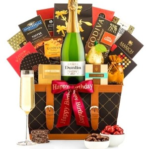 90th Birthday Champagne Gift Basket