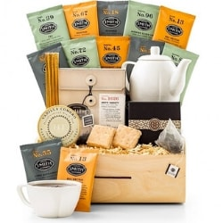 Tea Tasting Birthday Gift Basket