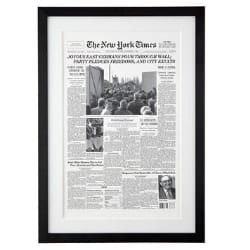 The New York Times Front Page Reprint from The Day You Were Born