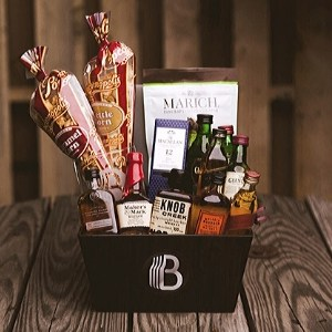 Whiskey Gift Basket for Men - Other Spirits Available