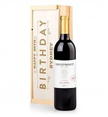 Personalized Birthday Wine Crate - Choice of Wines